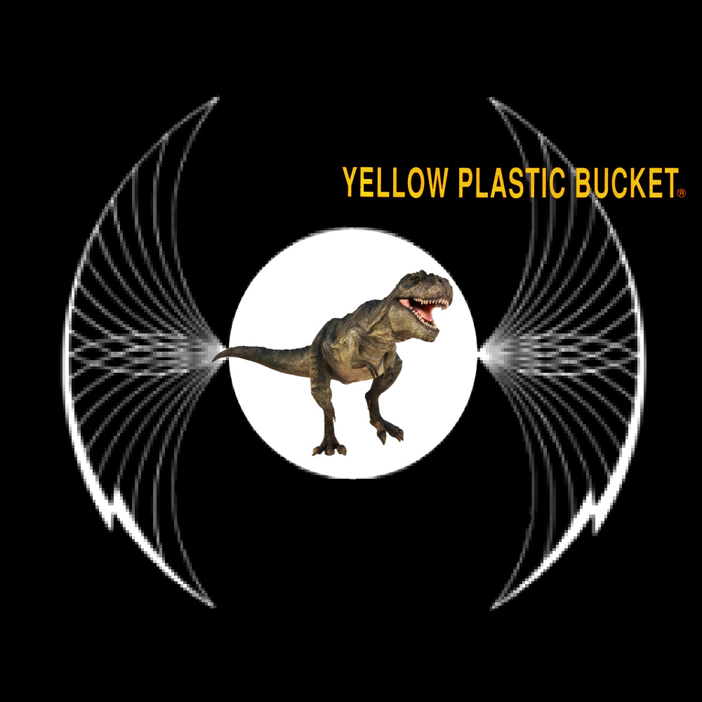 yellow plastic bucket forever